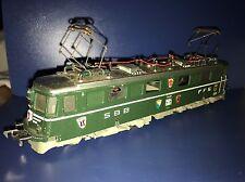 Fleischmann 1334 E Lok der SBB Br 11412 Winterthur HO Fleischmann 60er Jahre