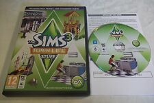 THE SIMS 3 TOWN LIFE STUFF EXPANSION ADD-ON PACK PC/MAC DVD V.G.C. FAST POST