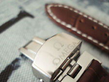 WATCH STRAP Genuine Leather 18 mm OMEGA Brown