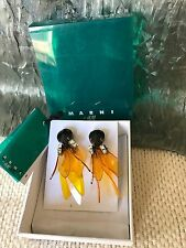 MARNI OVERSIZED PETALS DANGLE for H&M ACRYLIC Clip Earrings