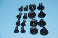 FORD CAR Black Interior Panel Side Skirt Rivet Fender Liner Fastener Trim Clips