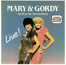 MARY & GORDY : SPASS AN DER VERWANDLUNG - LIVE! / CD