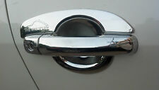 Combo Car Chrome Finger Bowl/Guard + Door Handle Catch Cover : Swift Dzire 2012