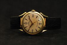 Very Rare Vintage Solar Watch Co. Swiss Made Unique Handwinding Mens Wristwatch