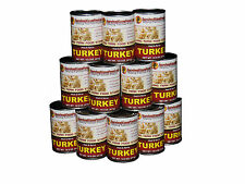 Survival Cave Food Canned Meat - Turkey Food Storage 12 Cans – 14.5 oz each