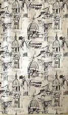 Venice Palace rome fabric shower curtain