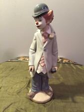 """LLADRO """"CIRCUS SAM"""" #5472  SCULPTED BY FRANCISCO CATALA CLOWN WITH VIOLIN"""