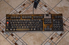 Steampunk Computer Keyboard Antique Typewriter Keys Dell U473D Multimedia