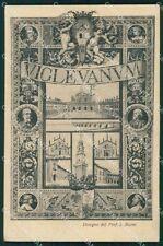 Pavia Vigevano Barni cartolina KF2386