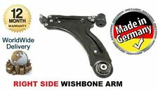 FOR VAUXHALL OPEL CORSA C 2000-2006 RIGHT LOWER SUSPENSION WISHBONE ARM + JOINT