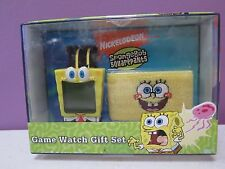 SPONGEBOB SQUAREPANTS GAME WATCH GIFT SET BRAND NEW RARE COLLECTIBLE ITEM