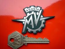 MV AGUSTA Self Adhesive Motorcycle or Helmet Badge Boxer America F4 Brutale Bike