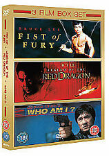 Fist Of Fury Legend Of The Red Dragon Who Am I? 3 DVD Unwanted Xmas Gift Present