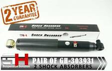 2 NEW REAR OIL SHOCK ABSORBERS FOR RENAULT LAGUNA I (B56) 1993-2001 /GH-303931/