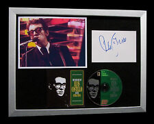 ELVIS COSTELLO+SIGNED+FRAMED+PUMP+OLIVERS+SHE=100% AUTHENTIC+EXPRESS GLOBAL SHIP