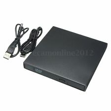 USB External Slim DVD ROM Reader CD RW Writer Combo Drive For Laptop Notebook