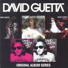 DAVID GUETTA - ORIGINAL ALBUM SERIES 5 CD NEU