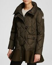 NEW $1795 MONCLER Women Vauloge Quilted Puffer Down Coat Jacket Parka, Size 3