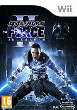 Star Wars The Force Unleashed 2 Nintendo Wii  #K2032