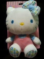 Hello Kitty Cuddle Friend Baby Crinkle Sound Soft Plush Toy Birth+ Safe and New