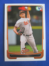Rare! 2012 BOWMAN DRAFT - ERROR - NO NAME - Wei-Yin Chen #45 Orioles - RC ROOKIE