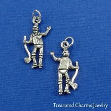 Silver TIN MAN CHARM Wizard of Oz Dorothy Fairy Tale PENDANT *NEW*