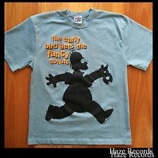 THE SIMPSONS Homer Graphic Tee Shirt Vintage 1996 Mens Medium Licensed Product