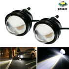 2Pcs White 5W CREE High Power Daytime Running Projector Fog Light DRL LED Lamps