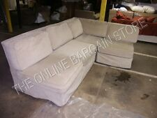 Pottery Barn Westport Sectional LOVESEAT Replacement Slipcover Sand Chenille
