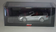Absolute Hot MS1043051 Mercedes Benz SL 65 AMG Cabrio LHD in Silver in 1:43