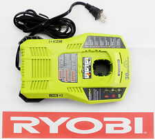 RYOBI 18 V 18 VOLT DUAL CHEMISTRY LITHIUM NICAD 30 MIN BATTERY CHARGER P117
