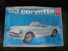 AMT 1953  Chevrolet Corvette first edition of all american sports car! hobby kit