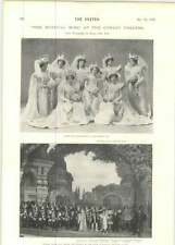 1899 Miss Jessie Mackaye In The Mystical Miss Corsa Bridesmaids