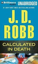 In Death: Calculated in Death 36 by J. D. Robb (2014, MP3 CD, Unabridged)