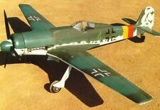 "Focke Wulf  152  114""  Giant Scale RC Model AIrplane Printed Plans"