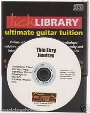 Lick Library Play Thin Lizzy Guitar Jamtrax Jam Trax CD