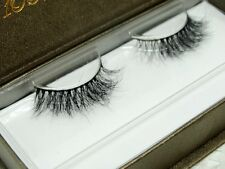 Nude Look Pure Handmade 100% real siberian mink strip eyelashes 3D mink lashes