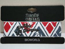 NEW DC Comics Suicide Squad Harley Quinn Daddy's Lil Monster Rubber Bracelet