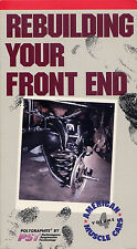 american muscle cars volume 4  REBUILDING YOUR FRONT END   VHS VIDEOTAPE
