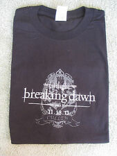 TWILIGHT BREAKING DAWN PART 1 EDWARD CULLEN CREST T-SHIRT  NEW Large ADULT