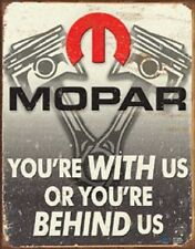 Mopar Dodge Ram Jeep Chrysler Metal TIN SIGN Garage Shop Wall Poster Decor Ad