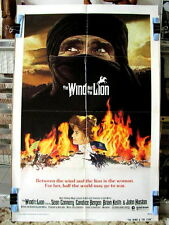 THE WIND AND THE LION Orig Movie Poster SEAN CONNERY CANDICE BERGAN JOHN MILIUS