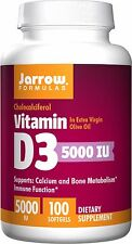 Jarrow Formulas Vitamin D3 5000 IU, 100 Softgels