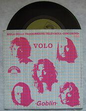 """GOBLIN""""VOLO- POLVERE BLU- SIGLA TV DISCORING ,DISCO 45 GIRI, CINEVOX 1982"""""""