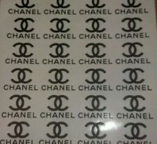 chanel vinyl glass stickers x30 unofficial for crafts