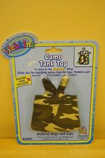 Webkinz Clothing Camo Tank Top by Ganz WE000085 New with Code Shirt