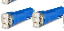 *lot de 2  Ampoule T5 3 LED  SMD1206 Lampe Bleu pour Tableau De Bord Voiture ***