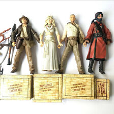 4pcs Lot INDIANA JONES Temple Guard Willie Scott 3.75'' Action Figure Boy Toy