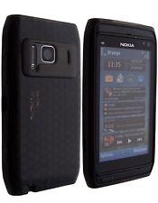 Housse SoftyGel Diamant noir Nokia N8