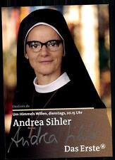 Andrea Sihler Um Himmels Willen Autogrammkarte Original Signiert## BC 9033